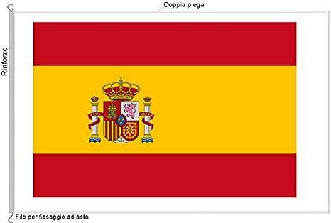 Bandera España (tela náutico tamaño 100 x 150 al Production ...