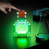 Mine&craft kleur veranderende lichten Potion fles licht nachtlampje, led-lamp batterij-aangedreven veranderingen tussen…