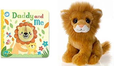 [해외]DG Shopping Spree Little Learners Finger Puppet Book Daddy and Me and Plush Lion Set (2 Piece Set) / DG Shopping Spree Little Learners Finger Puppet Book Daddy and Me and Plush Lion Set (2 Piece Set)