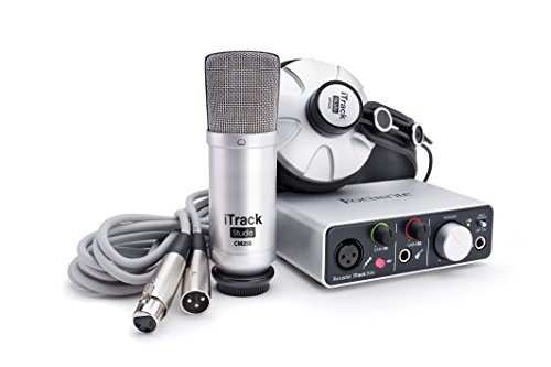 Focusrite iTrack Studio Lightning Complete Recording Package for iPad, Mac and PC by Focusrite