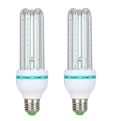 GJX (Pack of 2 LED Light Bulb, E27 Screw Corn Bulb for Home Light Fixtures E27 Base 220V White Light [Energy Class A+]