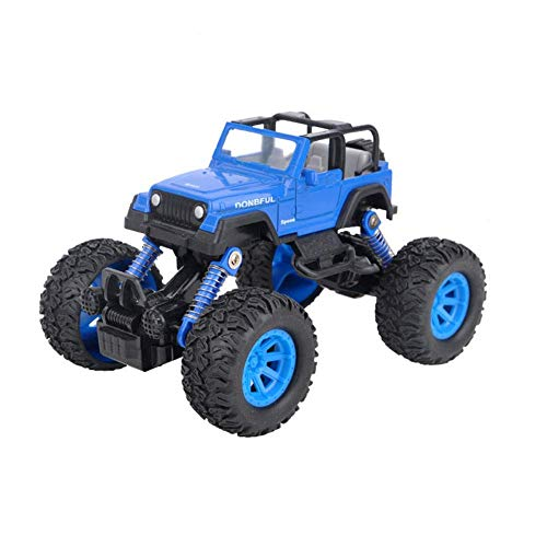 OWIKAR Pull Back Cars Alloy Diecast Truck Race Car Buggy Functions Toy Vehicles for for Kids Child Toddlers Party Favors,Die Cast Car Toy Play, Blue by OWIKAR