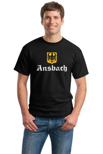 ANSBACH, GERMANY Adult Unisex T-shirt. Deutschland Hemd