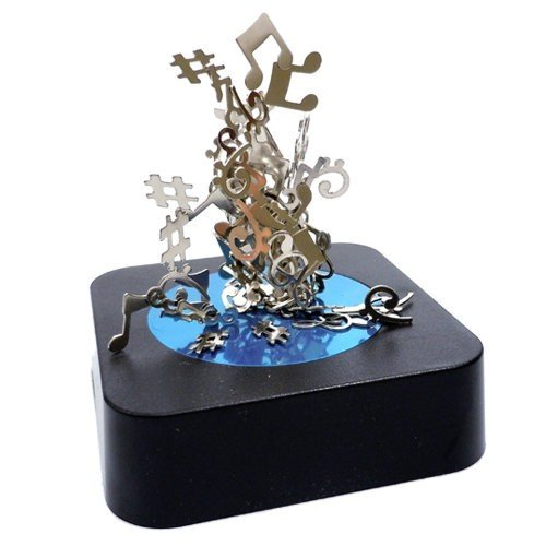 Music Notes Magnetic Sculpture Block by MINYA