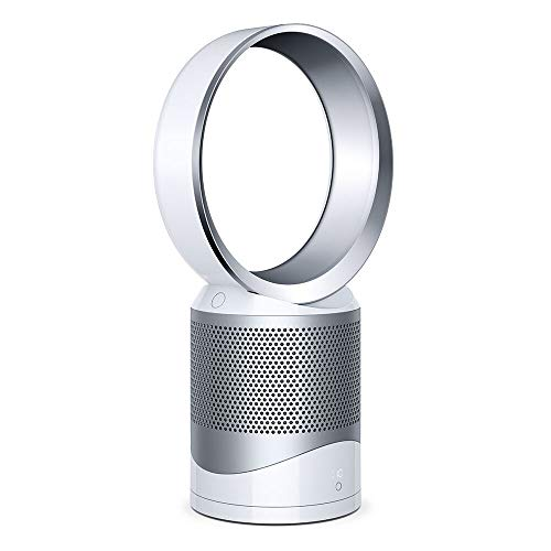 Dyson DP01 Pure Cool Purifier with Fan, Iron/White (Renewed)