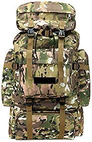 Outdoor 70L Sports Hiking Camping Backpack Travel Mountaineering Shoulder Bag Rucksack Large Internal Frame Hi