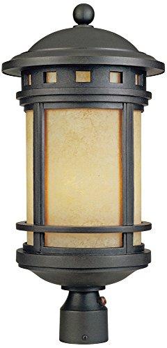 Sedona 23'' High 18 Watt CFL Oil Bronze Outdoor Post Light by Designers Fountain
