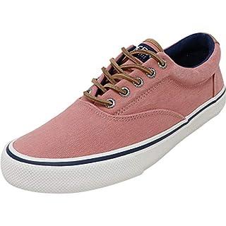 Sperry Men's Striper II CVO Prep Sneaker, Washed Red, 12