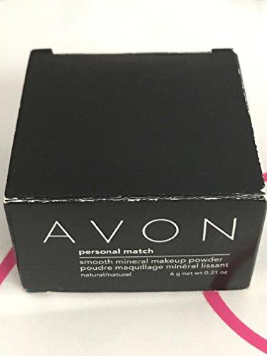 Avon Personal Match Smooth Mineral makeup powder natural 0.21 Oz - BEAUTIFUL BRONZE