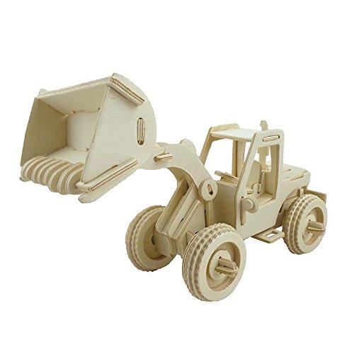 【日本産】 スケールForklift木製モデル3dパズルミニチュアDIY B072MZ6GQV Bulldozer Bulldozer B072MZ6GQV, 土浦市:b18d93e1 --- a0267596.xsph.ru