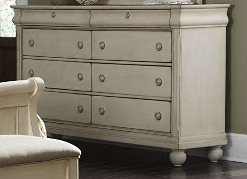 Liberty Furniture INDUSTRIES 689-BR31 Rustic Traditions II Bedroom 8 Drawer Dresser, 64