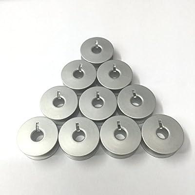 10 Bobinas de Aluminio para Pfaff Modelo Home & Máquinas de Coser ...