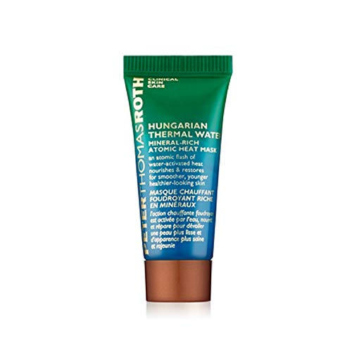 - Peter Thomas Roth Hungarian Thermal Water Mineral-Rich Atomic Heat Mask Mini 0.25 oz