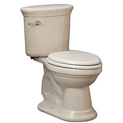 "Mirabelle MIRBR200A Boca Raton 1.28 GPF Toilet Tank Only with 12"" Rough In - Lef,"