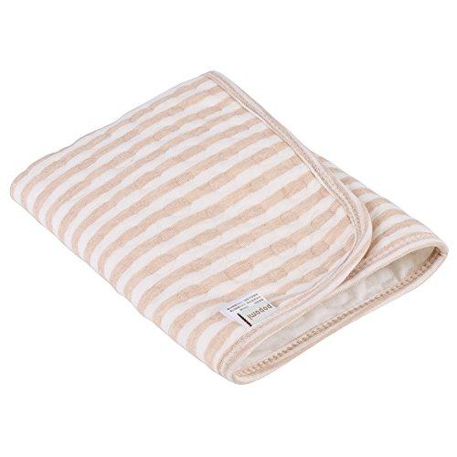 Fdit Mini colchón para bebé de Portable 100% Algodón Multifuncional Almohadilla de Aislamiento Portátil para Bebés...