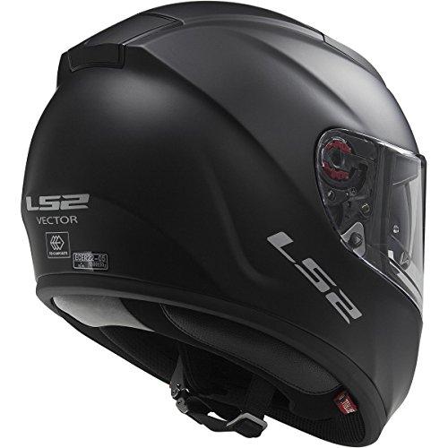 Full Motorcycle Helmet >> LS2 Helmets Citation Solid Full Face Motorcycle Helmet with Sunshield (Matte Black, Large) - Buy ...