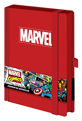 Marvel A5 SR72223 Logo Notebook