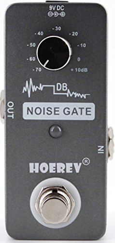 Noise Gate For Guitar And Bass Noise Reduction,With High Sensitivity Noise Gate Controller by Hoerev