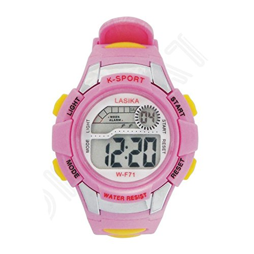 Reloj de pulsera, w-f71 – LASIKA niños niños natación deportes digital muñeca reloj