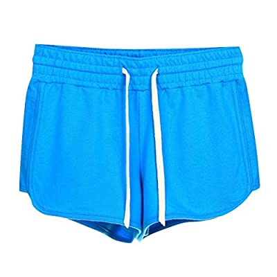 Hessimy Dolphin Shorts for Women Running Workout Short Athletic Gym Yoga Fitness Sports Shorts for Women Lounge Short: Clothing