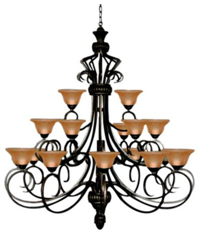 ndelier Large Foyer Entryway Lighting Country French 3 Tiers 21 Lights , HT72 X WD55 Ceiling Fixture (Tier Foyer Pendant)