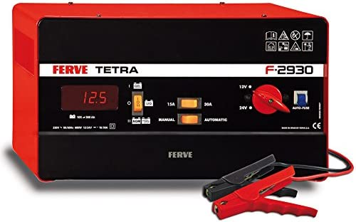 ferve f-2930 Tetra Charger 12 – 24 V 15 – 30 A, 0: Amazon.co.uk ...