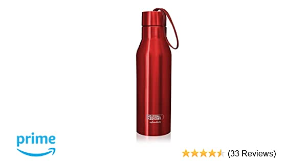 Landnics Stainless Steel Water Bottle, 25oz Vacuum Insulated Bottle  Portable Leak-Proof Sports Water Bottle Double Wall Thermos Flask Keep Cold  24hrs