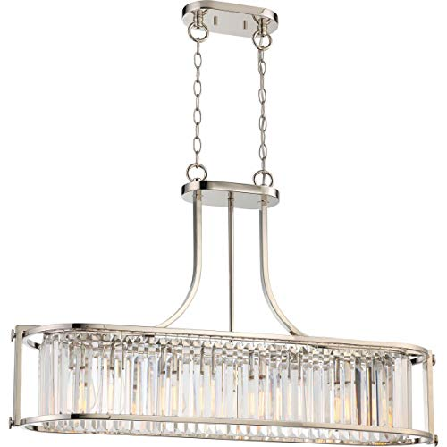 Nuvo Lighting Nuvo 60/5765 Four Light Trestle Polished Nickel ()