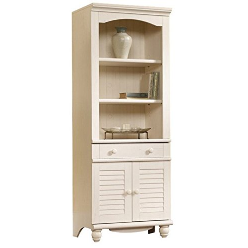 Sauder 158082 Harbor View Library with Doors, L: 27.21