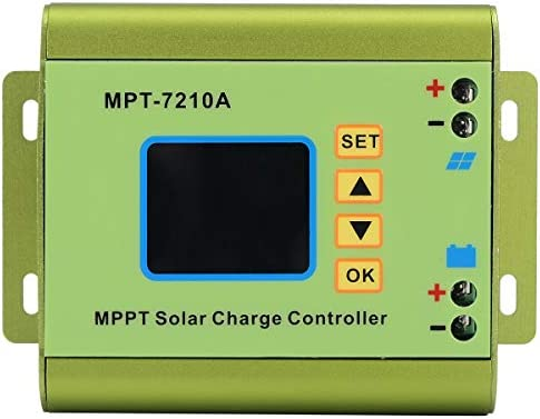 WITHOUT BRAND 1pc LCD Display MPT-7210A MPPT Solar Panel Laderegler 24/36/48/60 / 72V-Boost for Solarbatterie Regulatir-Controller