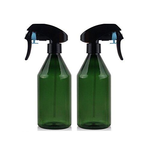 Healthcom 2 Pcs 10 oz. Empty Spray Bottle Clean Hair Color Applicator BottlesMist Sprayer Leak-proof Bottles by Healthcom