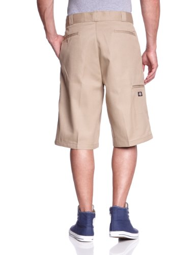 Dickies Men's 13 Inch Inseam Loose Fit Multi-Pocket Work Short