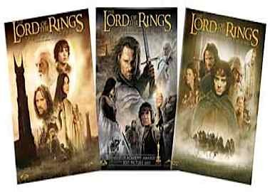 The Lord of the Rings Movie Trilogy (The Rings Of Vhs Trilogy Lord)