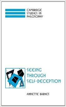 Book Seeing through Self-Deception (Cambridge Studies in Philosophy)