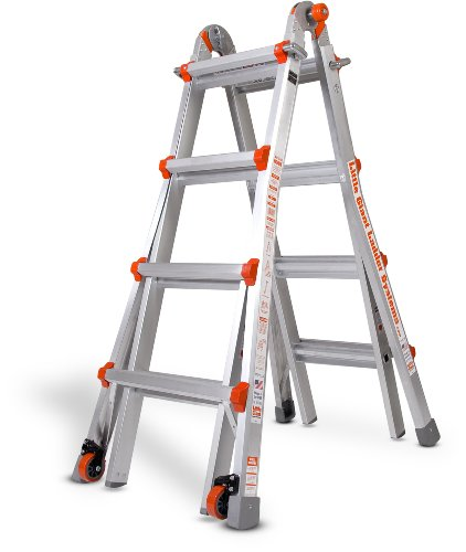 Little Giant Ladder Systems 10102LG 300-Pound Duty Rating Multi-Use Ladder