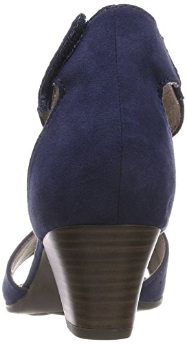 Ankle 28362 Sandals Women''s Blue Softline navy Strap 8vwAFxq