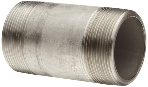 Stainless Steel 316/316L Pipe Fitting, Nipple, Schedule 80, Seamless Extra Heavy, 1/4