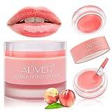 Lip Scrub,Lip Exfoliator & Moisturizer - Double