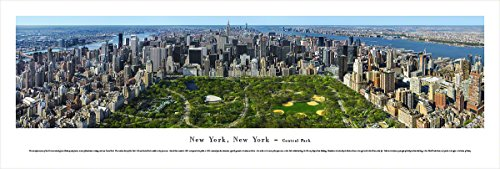 Blakeway Worldwide Panoramas York-Central Park-Blakeway Panoramas Unframed Icon Posters (Icon Unframed)