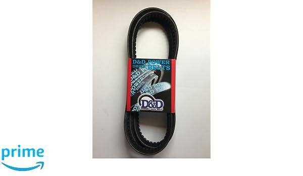 A//4L 1//2 x 74 OC Rubber D/&D PowerDrive A72//4L740 V Belt