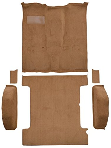 1985 to 1991 Chevrolet Blazer Carpet Custom Molded Replacement Kit, 4 WD Complete Kit (8835-Medium Beige Plush Cut Pile) Blazer Molded Replacement Carpet