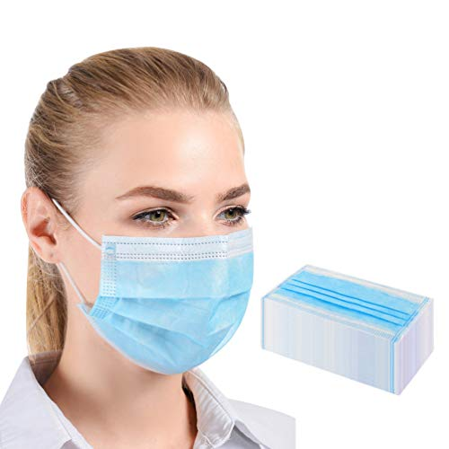 Medical Face Fliter 3-Layer Disposable Surgical Protection Face Fliters Anti Pollution 50pcs