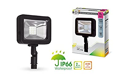 LLT LED Compact Floodlight with Arm SMD Outdoor Landscape Security Waterproof 5000K (Daylight) 10W/20W/30W/50W