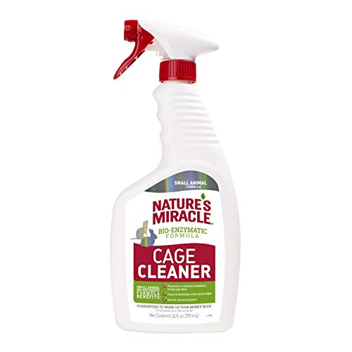 Nature's Miracle Cage Cleaner 24 fl oz, Small Animal Formula, Cleans And Deodorizes Small Animal Cages, 2nd Edition from Nature's Miracle