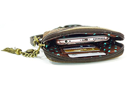 Pu Crossbody Chala Purse Phone Adjustable Multicolor Cell Strap Handbag Owl Yellow Leather Women With qSnnHaXCxw