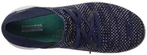 Sin Zapatillas prominence Cordones You Mujer Para Skechers Azul gris tOzqZZ
