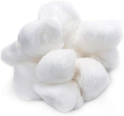 Paquete de 500 g de bolas de algodón natural absorbente para ...
