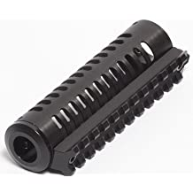 """LongShot Black Anodized Aluminum Straight-Vented 4-1/8"""" Integrated Picatinny Rail for Hi-Point 4095TS"""