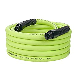 Flexzilla Pro Water Hose With Reusable Fittings, 58 In. X 50 Ft., Heavy Duty, Lightweight, Drinking Water Safe - Hfzwp550