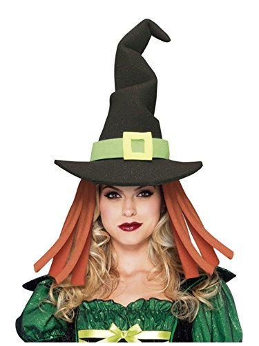 (Funky Fresh Black Witch Adult Hat)